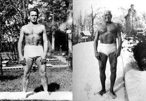 Joseph Pilates a 57 e 82 anni